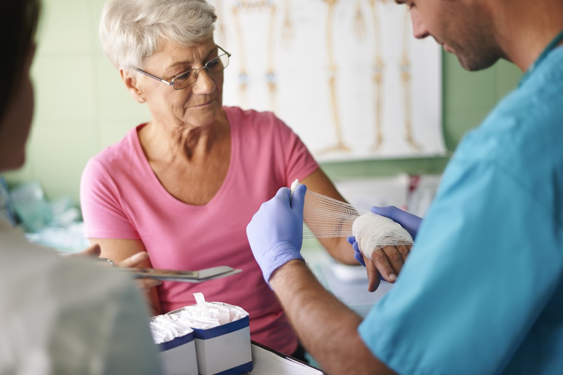 Wound Care at Alpine Nursing Home