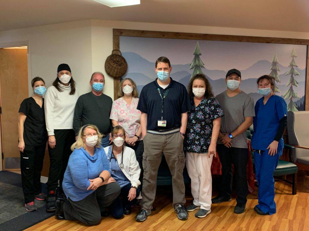 our award winning staff at Alpine Nursing Home