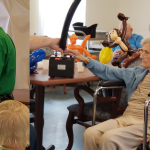 companionship at the Alpine Nursing Home