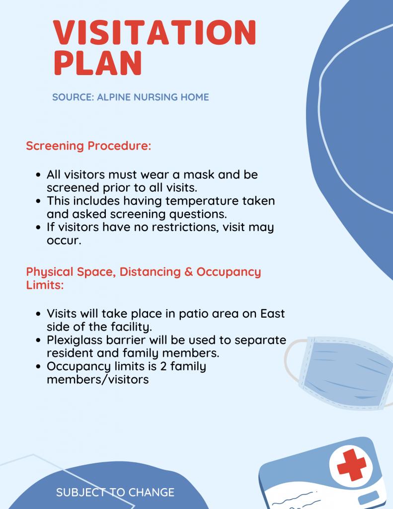 visitation plan